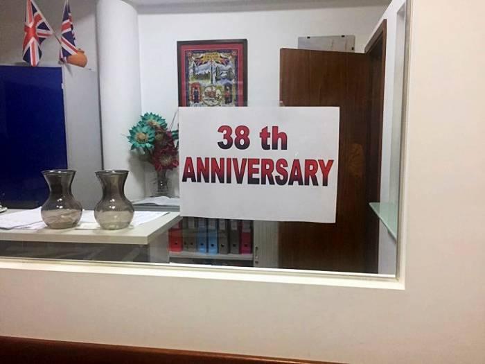 38º Aniversário