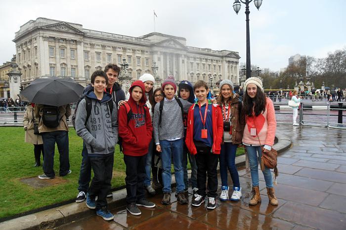 Visita de estudo a Londres 2013